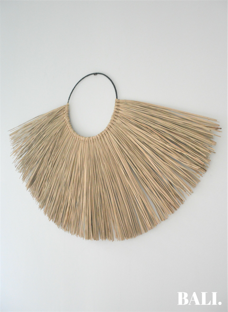 Zeegras hanger - clean naturel (86x54)