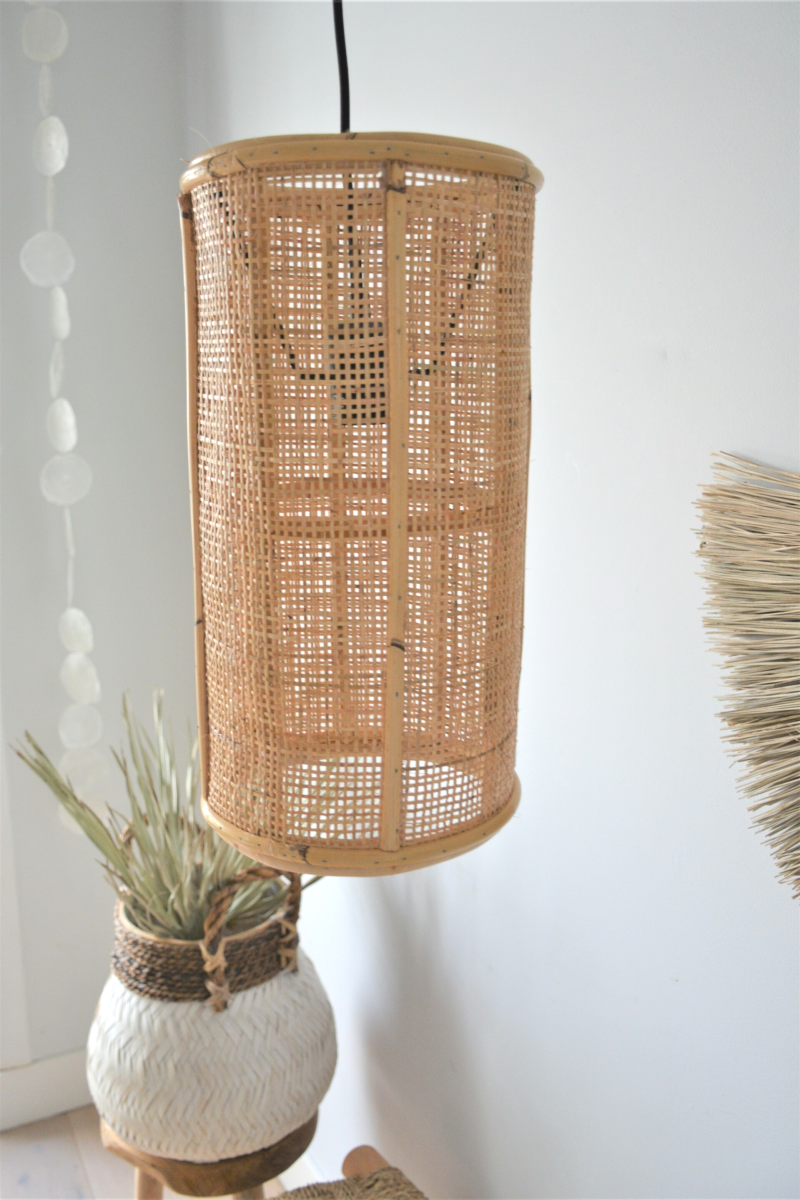 Rotan hanglamp | Naturel