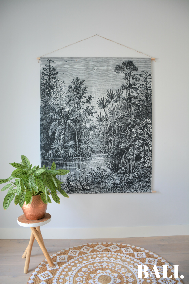 Wandkleed | Botanic Jungle | XL - XXL | NEW: 100% Cotton