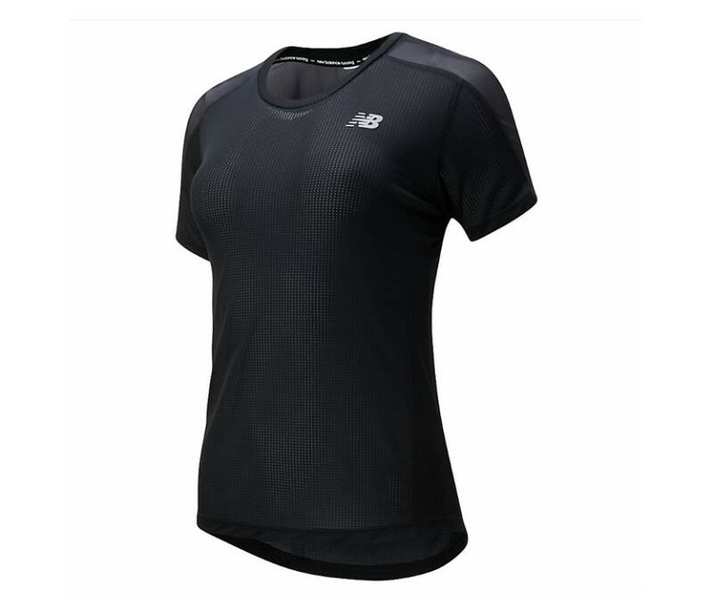 Dames New Balance Shirt Zwart
