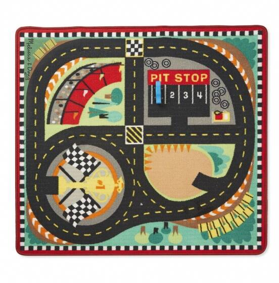 Round the Race Track kleed 91x100 cm