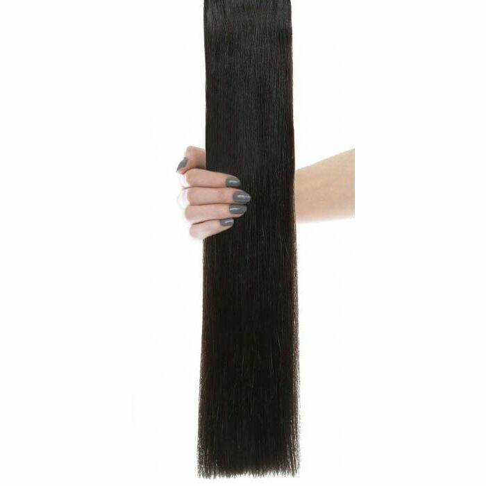 Flawless Choice® - Weft Hair Extensions - brown
