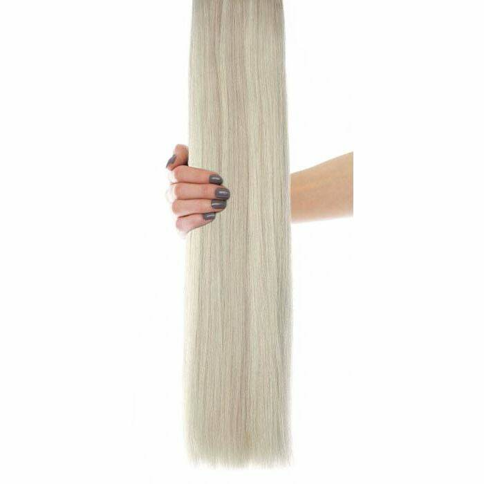 flawless Choice® - Weft Hair Extensions - Iced Blonde