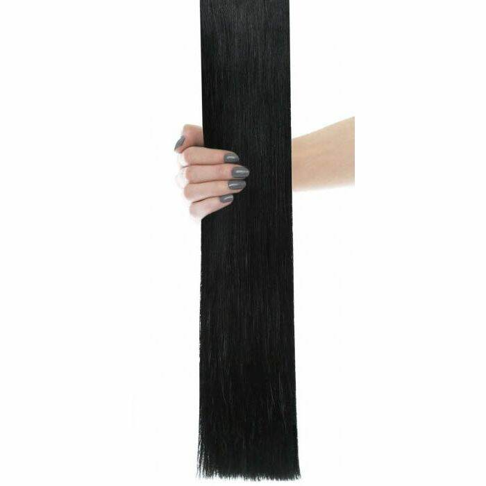 Flawless Choice® - Weft Hair Extensions -  Black
