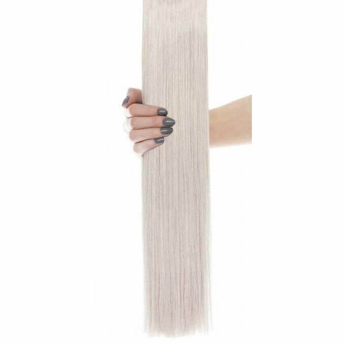Flawless Choice® - Weft Hair Extensions - Silver