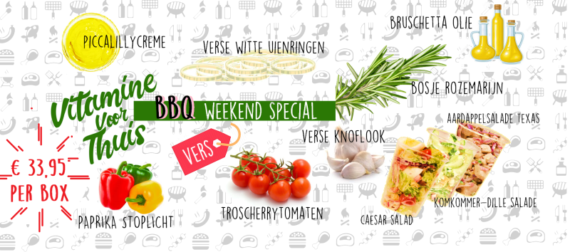 De BBQ Weekend Special Box!