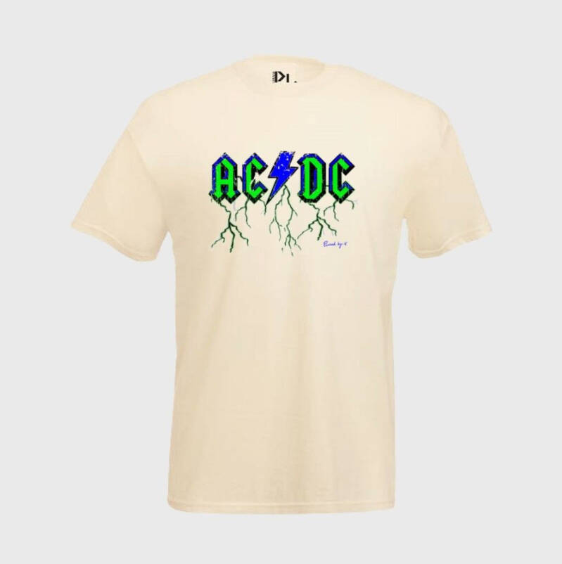 PINNED BY K - T-shirt ACDC