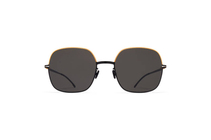 MYKITA Decade Magda Gold Jet Black Dark Grey Solid