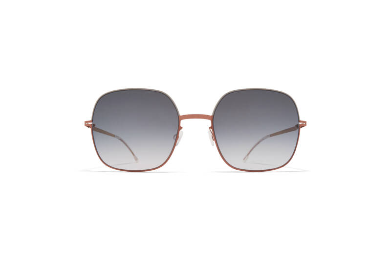 MYKITA Decade Magda Shiny Copper Stone Grey Grey Gradient