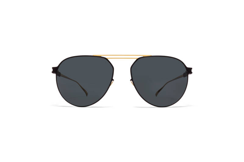 MYKITA NO1 Nino Gold Black Black Polarised