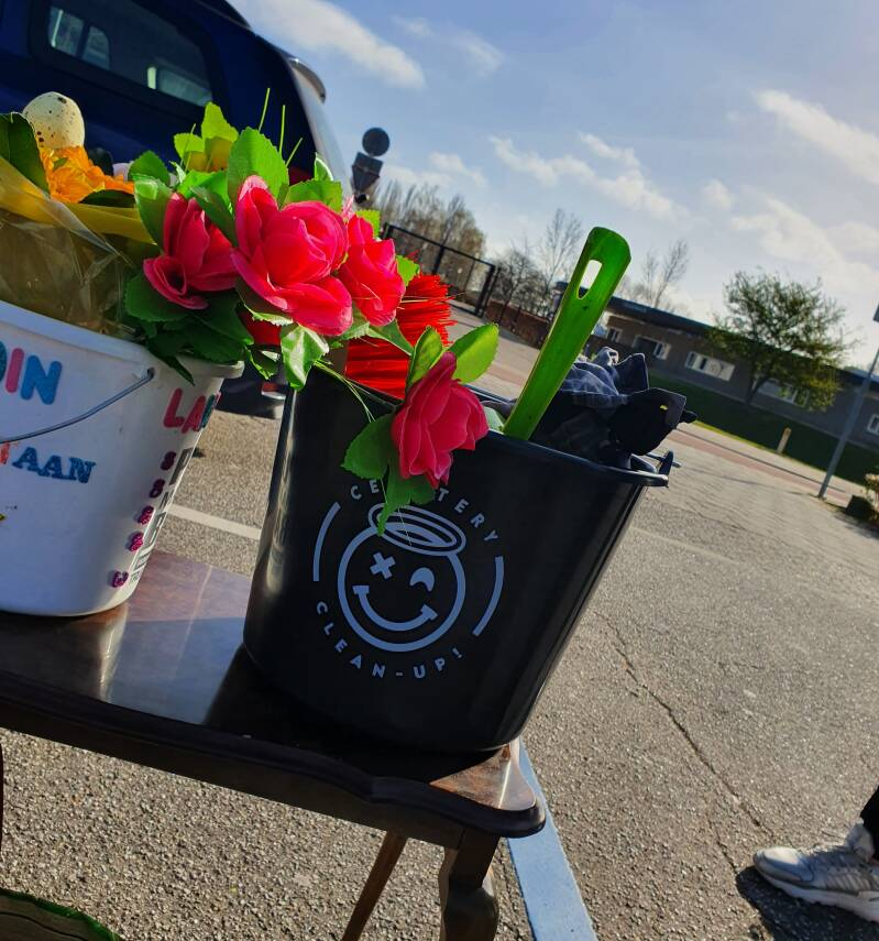 Cemetery Clean-Up Bucket