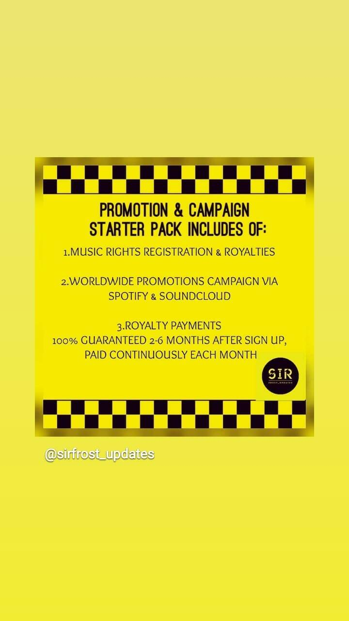 PROMOTIONS & CAMPAIGNS #1 (starter pack)