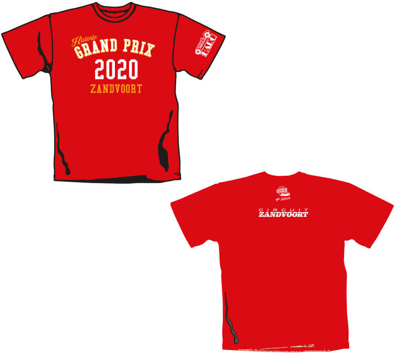 HGP 2020 9th Edition Tee - Red (HGPTS011RD)