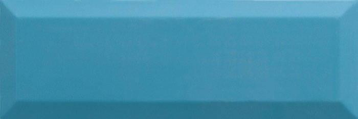 Metrotegel teal glans 10x30 cm