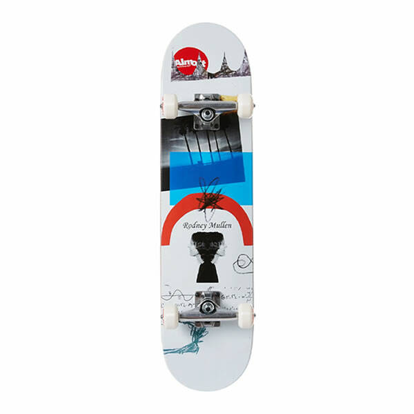 """Almost Complete Skateboard - Mullen Scrapes Resin First Push 7.75"""""""