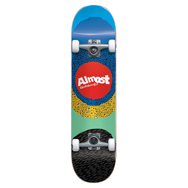 """Almost Complete Skateboard - Radiate First Push 8.25"""""""
