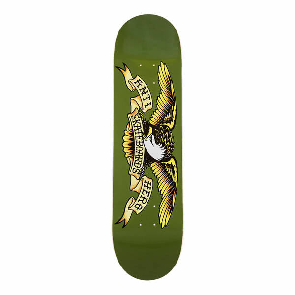 "Antihero Classic Eagle Skateboard Deck 8,38"" - Green"