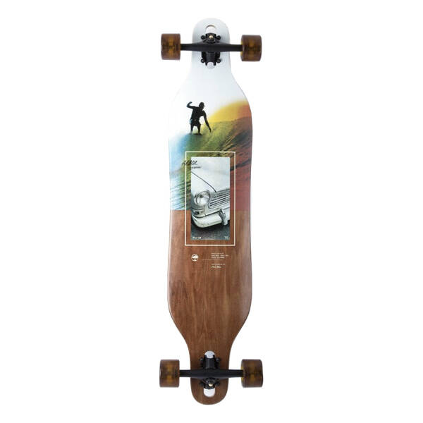 """Arbor Axis Photo Collection Surf Trip 40"""" Longboard Complete"""