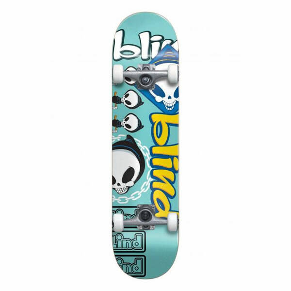 Blind Complete Skateboard - Tantrum First Push 8.0""