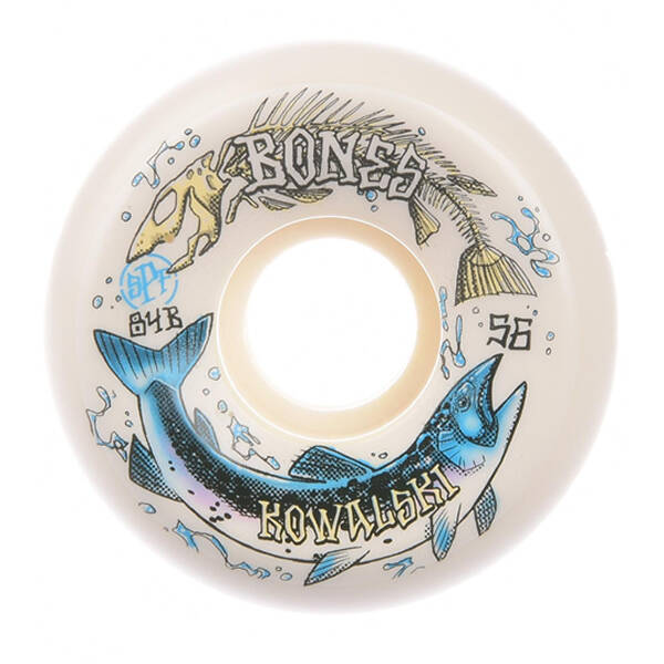Bones Wheels - SPF Kowalski Salmon Spawn 84B Sidecut 54mm