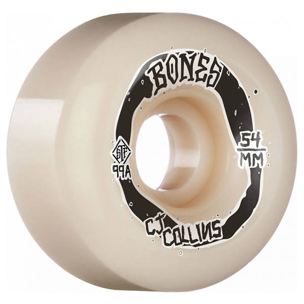 Bones Wheels CJ Collins V6 Widecut STF 99A 54mm