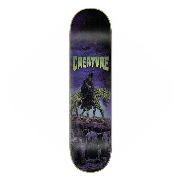 Creature Skateboard Deck Corpse Horse Coldpress 8,375""