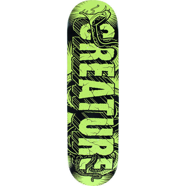 Creature Giant Serpents UV Skateboard Deck