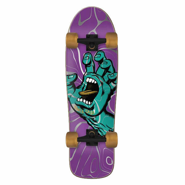 Santa Cruz Complete Cruiser - Screaming Hand Ooze 80's Cruzer 9.7""