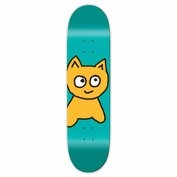 Meow Skateboard Deck - Big Cat 8.25""