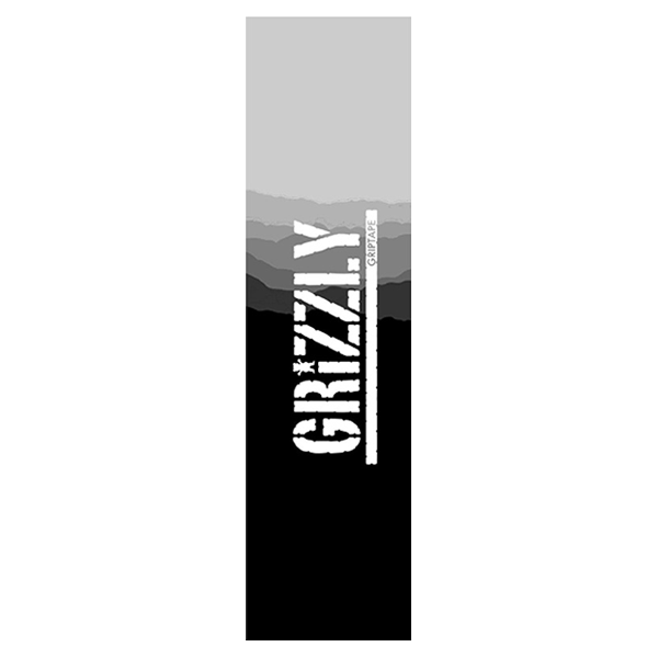 Grizzly Griptape - Range Stamp Black/Grey