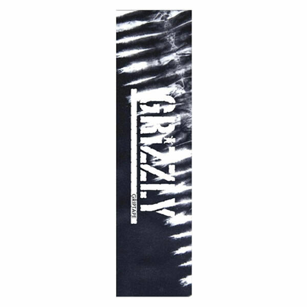 Grizzly Griptape - Tie Dye Black and White
