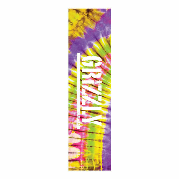 Grizzly Griptape -Tie Dye Purple Pink Green