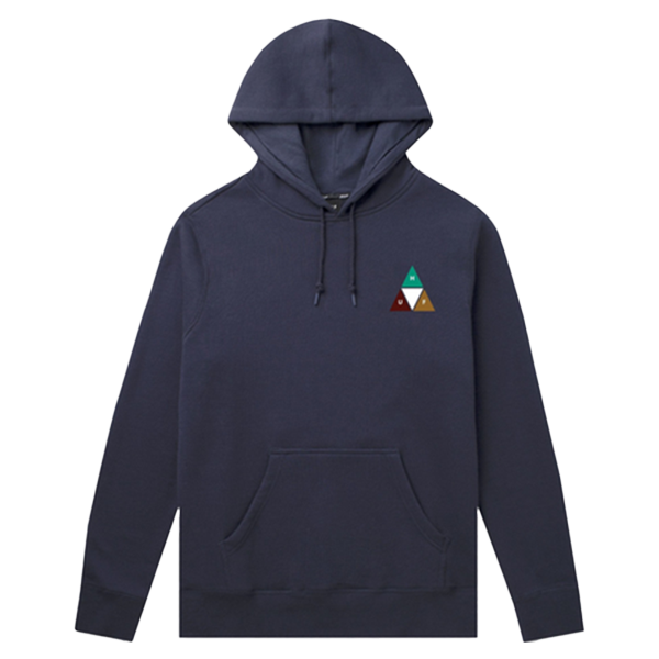 HUF Hoodie - Prism Trail French Navy