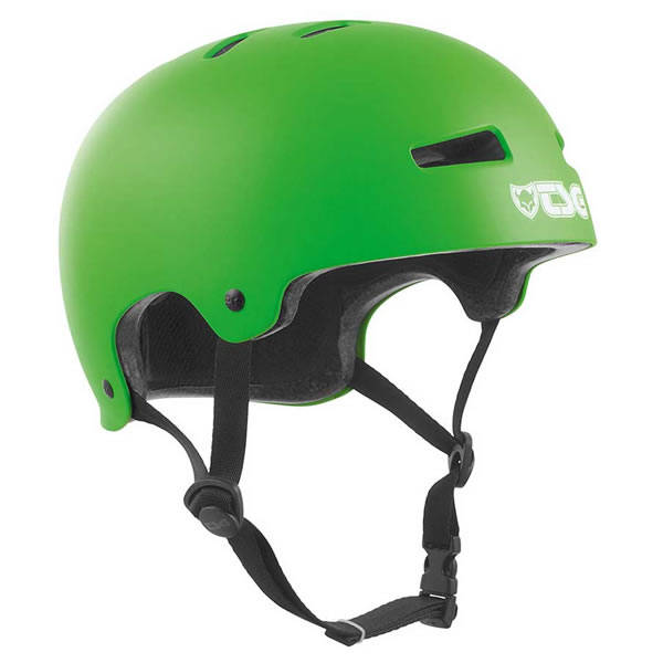 TSG Helmet Evolution Satin - Lime Green