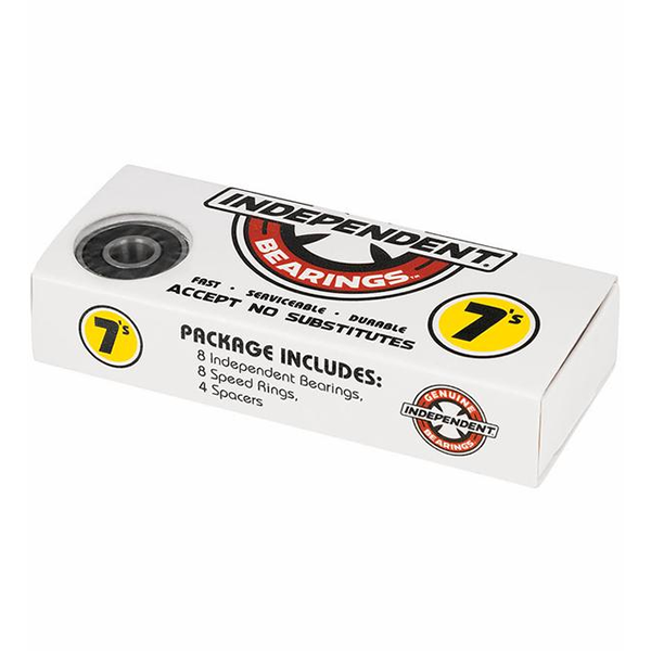 Independent ABEC 7 Bearings Silver Black