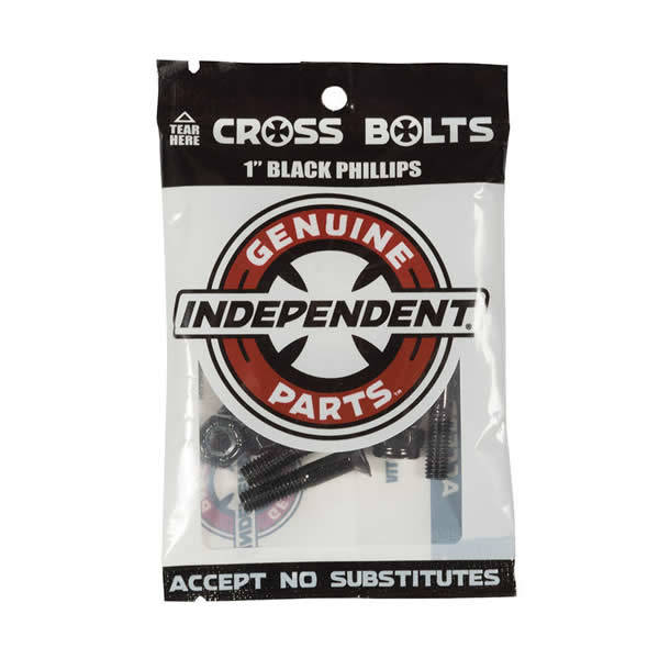 Independent Mounting Kit Cross Black Phillips 1""