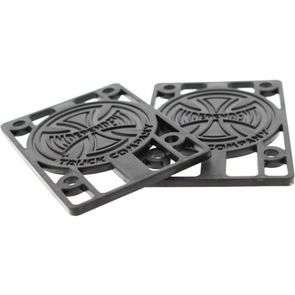 "Independent Riser Pads 1/8"" Black"