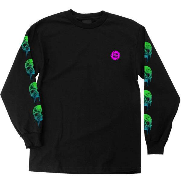 Santa Cruz Longsleeve Totally Normal Slime Balls - Black
