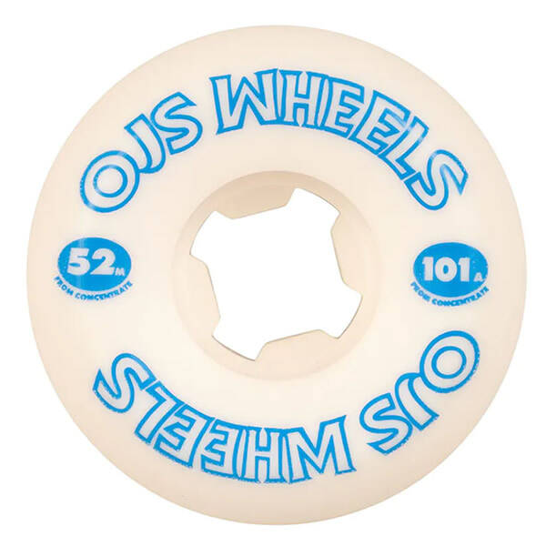 OJ Wheels From Concentrate Hardline White 52 mm