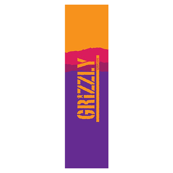 Grizzly Griptape - Range Stamp Purple/Orange