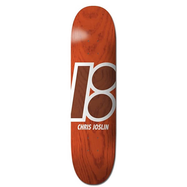 Plan B - Stained Skateboard Deck Chris Joslin