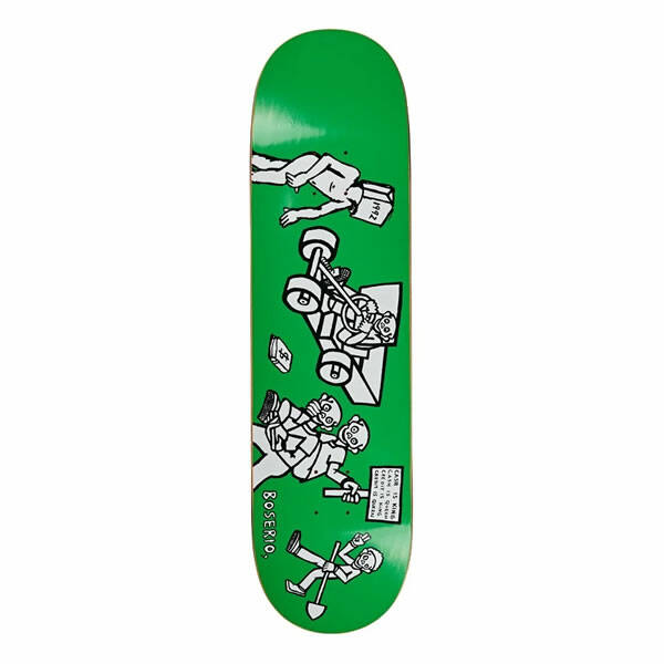 Polar Nick Boserio Cash is Queen Skateboard Deck 8.375""