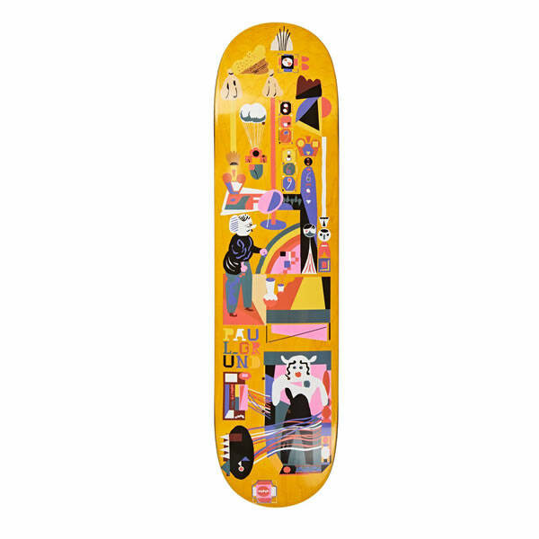 Polar Skateboards Paul Grund - Frequency