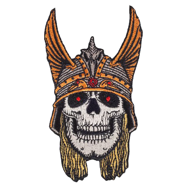 Powell Peralta Andy Anderson Skull Patch 10.2cm