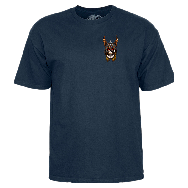 Powell Peralta T-shirt - Andy Anderson - Navy Blue