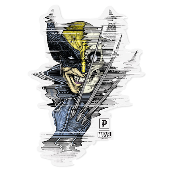 Primitive x Marvel x Paul Jackson Wolverine Die Cut Sticker