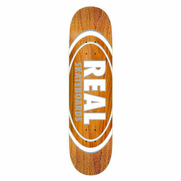 Real Skateboard Deck - Oval Pearl Patterns 8.5""