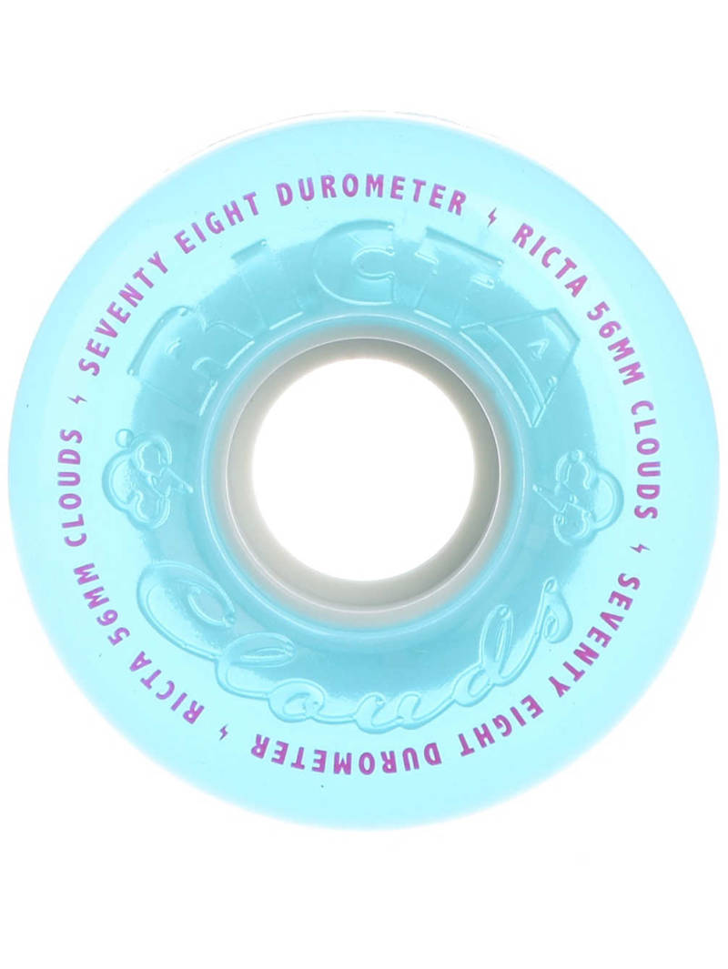 Ricta Crystal Clouds Teal 56mm