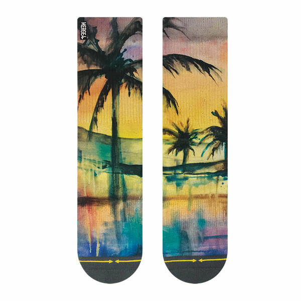 MERGE4 Socks - Liquid Sunset