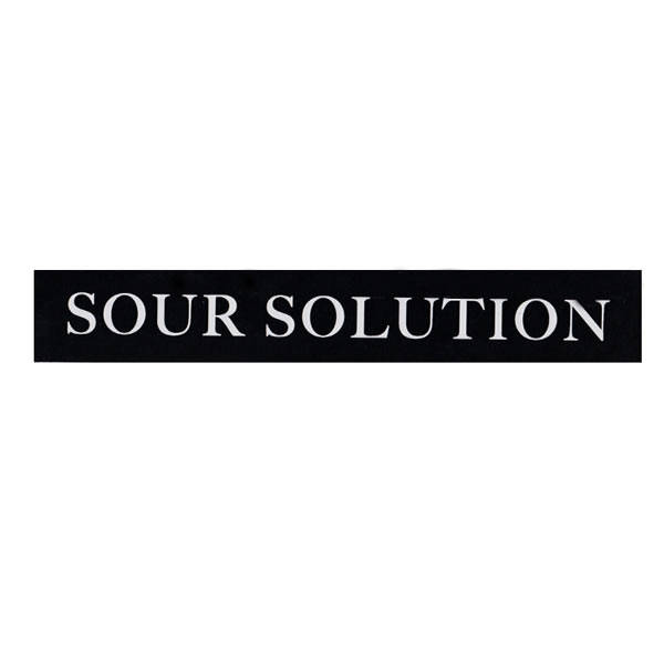 Sour Solution Long Text Sticker